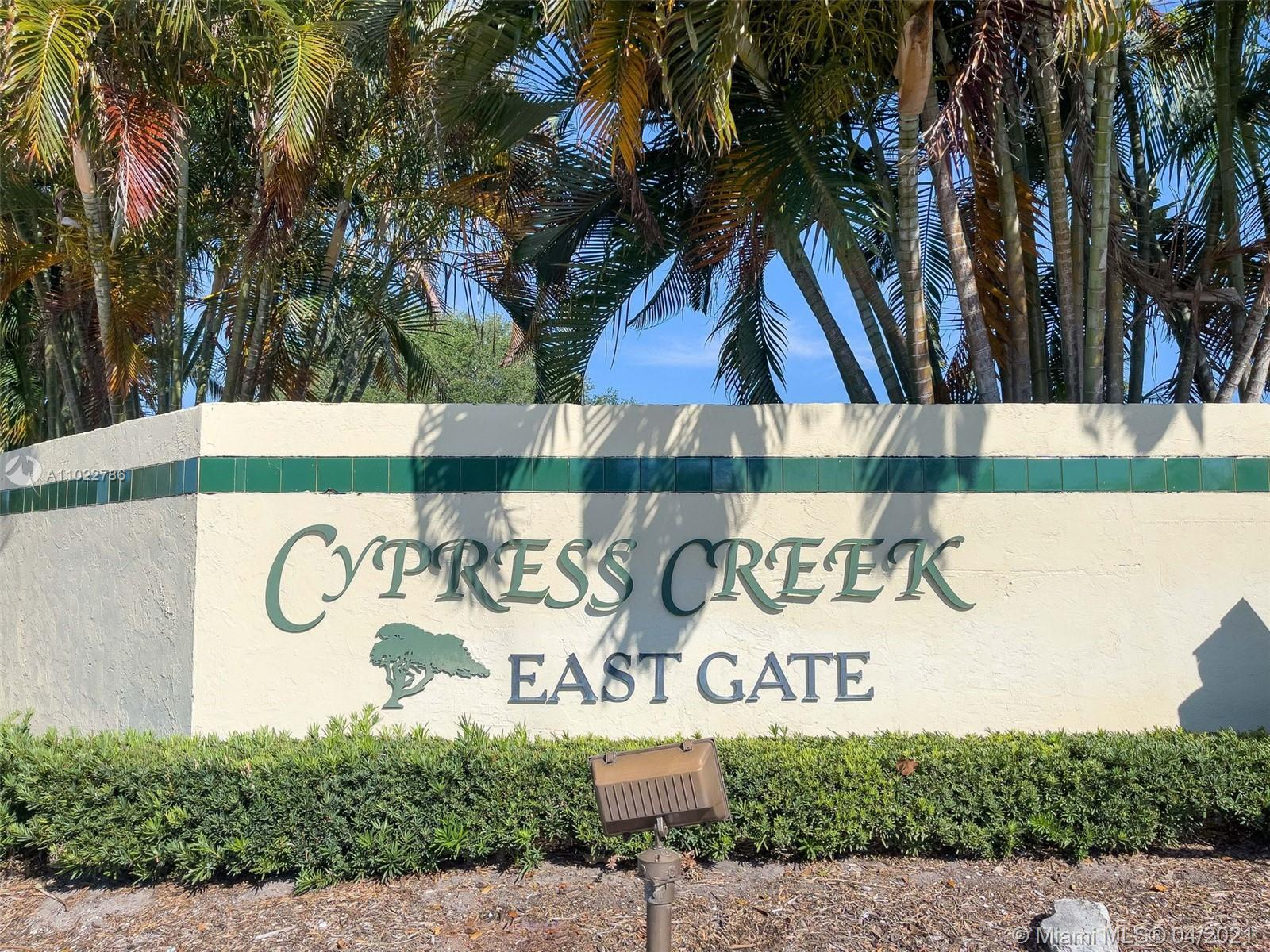 LOVELY ONE STORY POOL HOME AT CYPRESS CREEK, 4 BEDROOMS, 3 FULL BATHROOMS, TWO CAR GARAGES & CIRCULA