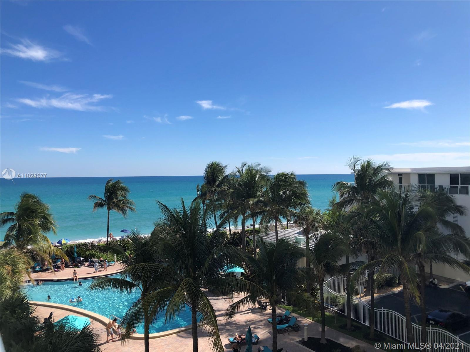 Resort Style Condo on Beautiful Hollywood Beach. Nicely updated & Turn key ready for the investor. 4