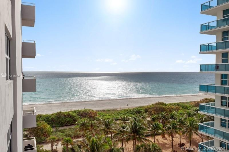 MUST SEE! Gorgeous 1 bed, 1.5 bath unit facing the ocean on the 8th floor with amazing views. Unit i