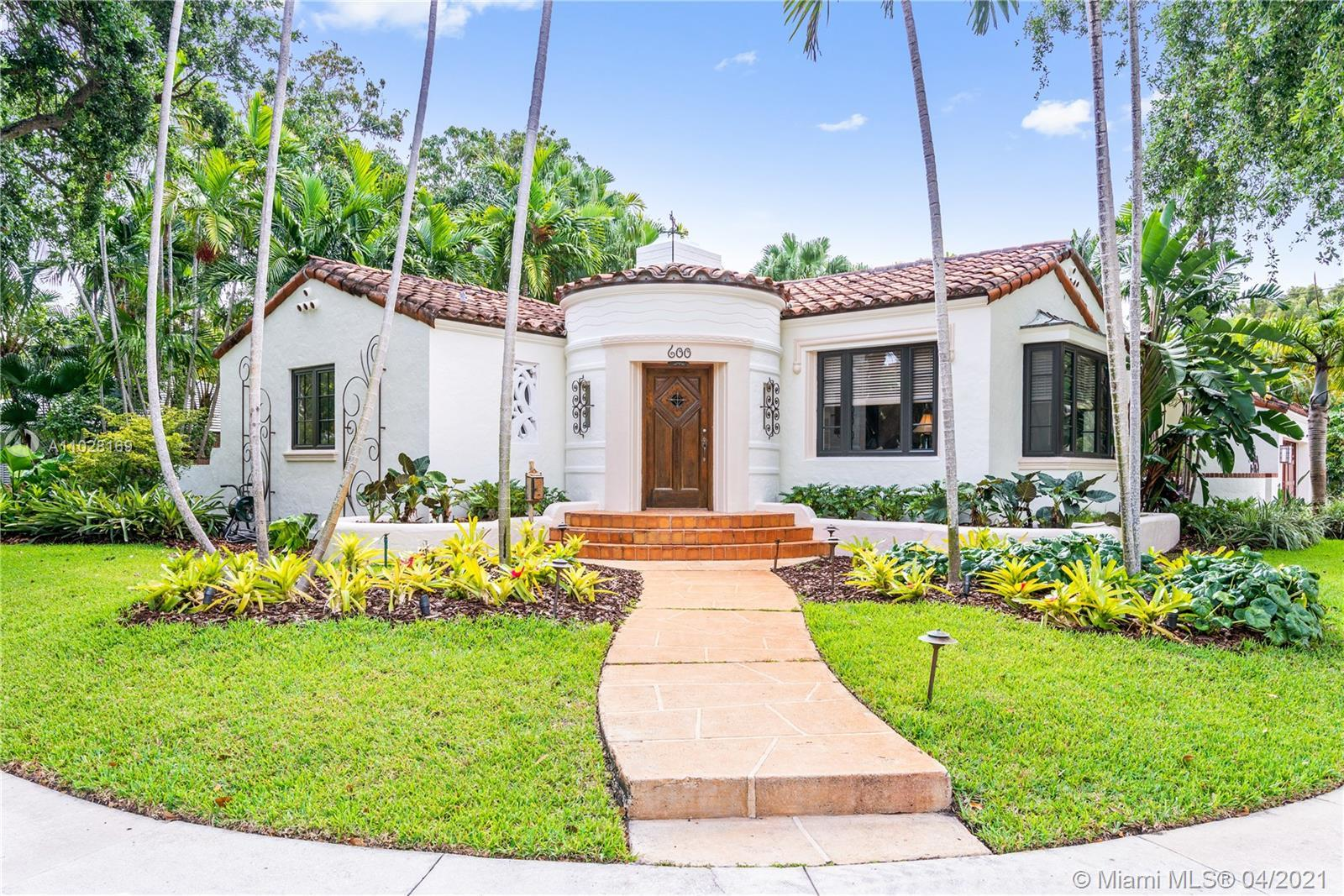 Welcome to this 3 Bed, 2.5 Bath Mediterranean / Art Deco pool home in Morningside, one of Miami's mo