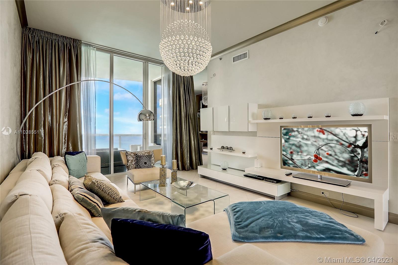 Welcome to Trump Tower I Sunny Isles #3404 – a stunning home in the sky with 11 ft. ceilings and dir