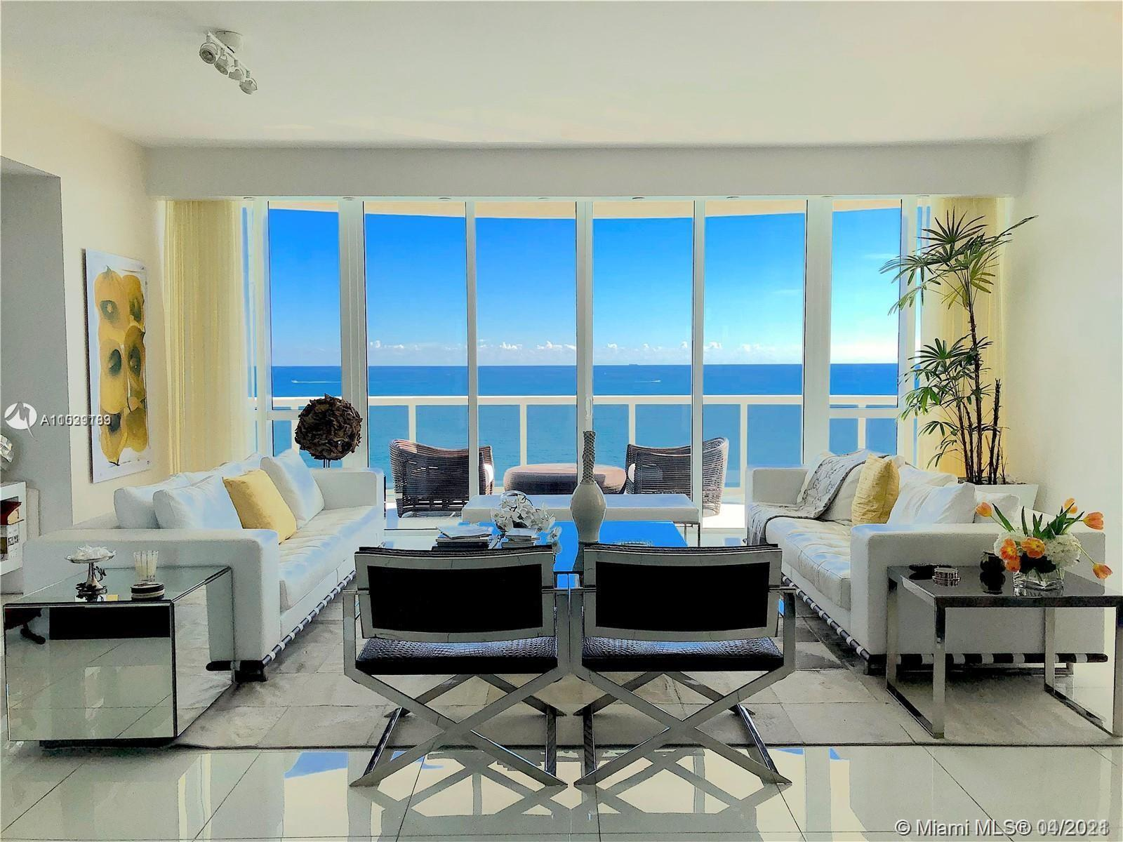 Welcome home. As you exit the private elevator directly into your residence and enjoy the 180-degree
