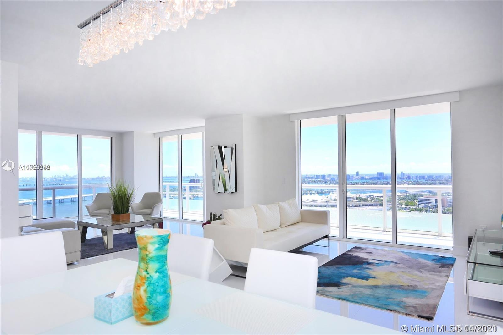 Enjoy the direct ocean and open bay views from this completely remodeled downtown unit. Walking dist