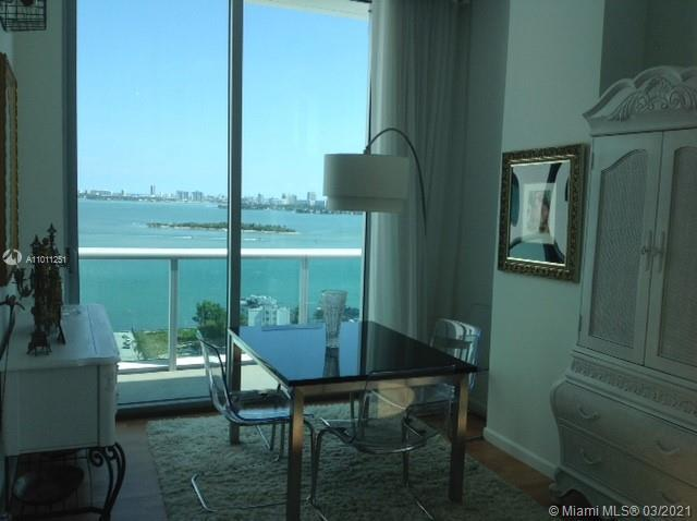 EDGEWATER PENTHOUSE corner unit with a wrap around balcony to enjoy east bay views and south DT Miam