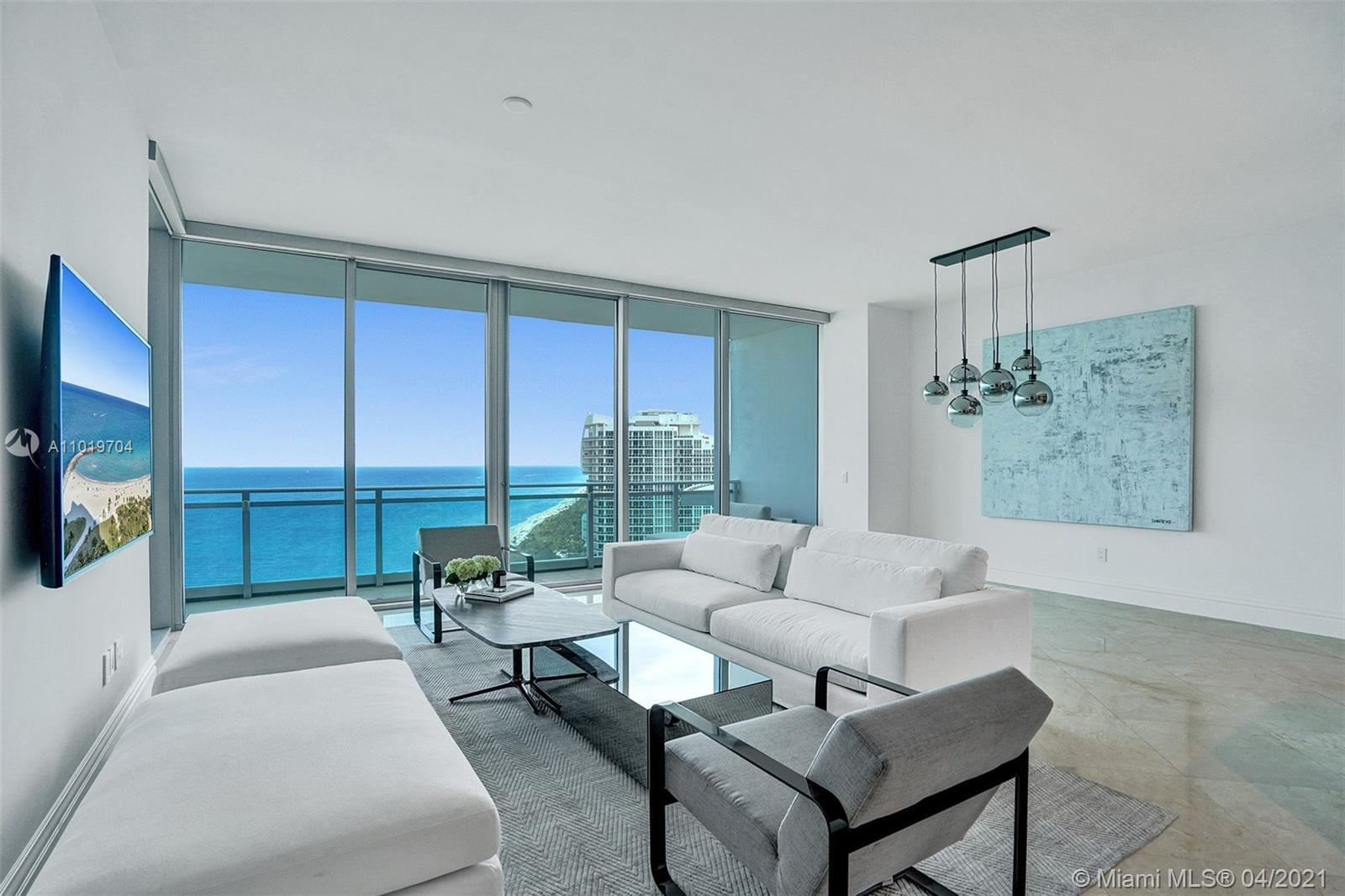 Luxuriouswaterfront residence with stunning south-east ,direct ocean views that has just been profe