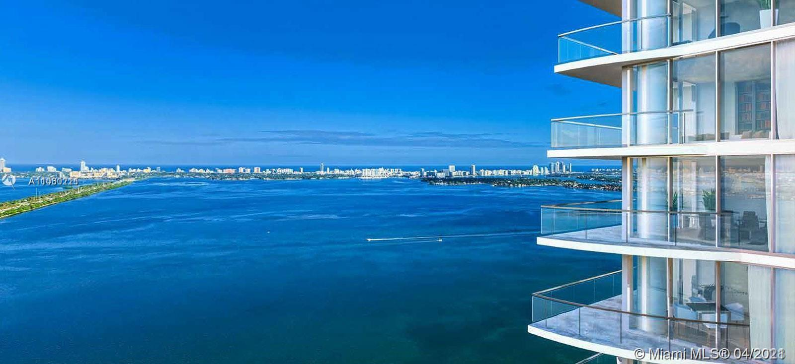 Luxurious 1 bed+den & 2 full bath in the Edgewater district of Miami.Great open space unit with floo