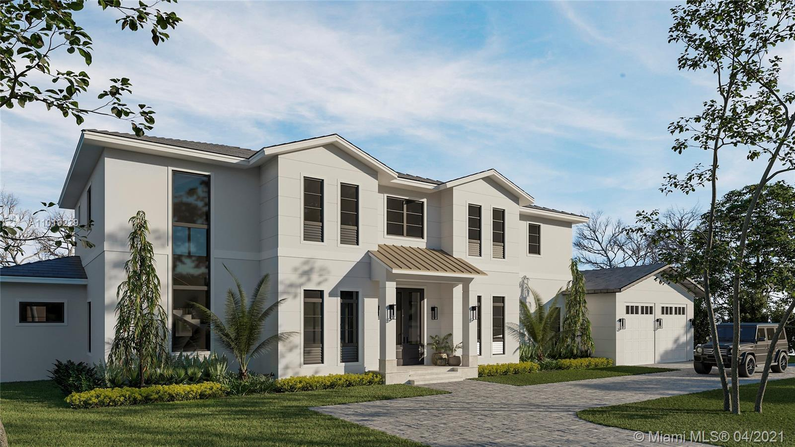 This new lakefront Hollub home under construction embodies the South Florida lifestyle, providing th