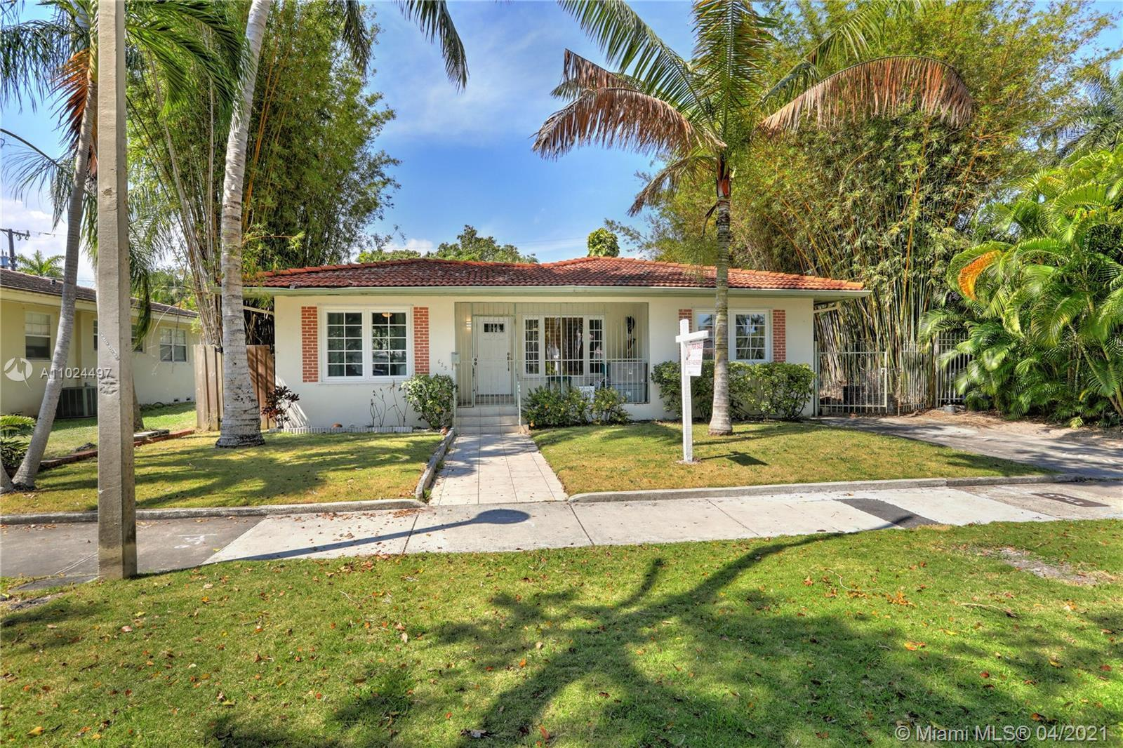 Live in Miami's first Historic neighborhood! Located on one of Morningside's prettiest blocks, this