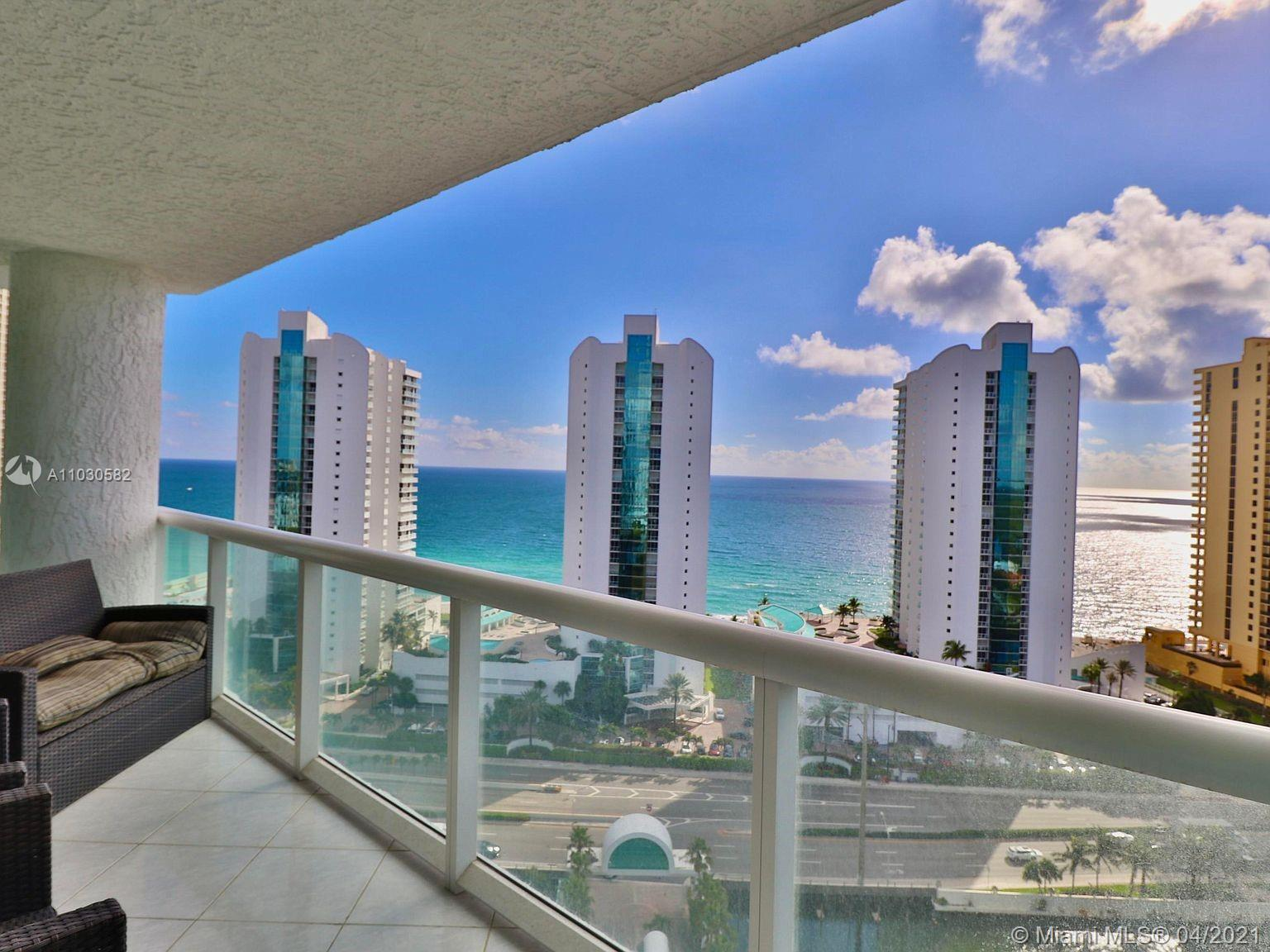Beautiful 2 bedroom condo with a large den. This unit has spectacular views of the ocean from every