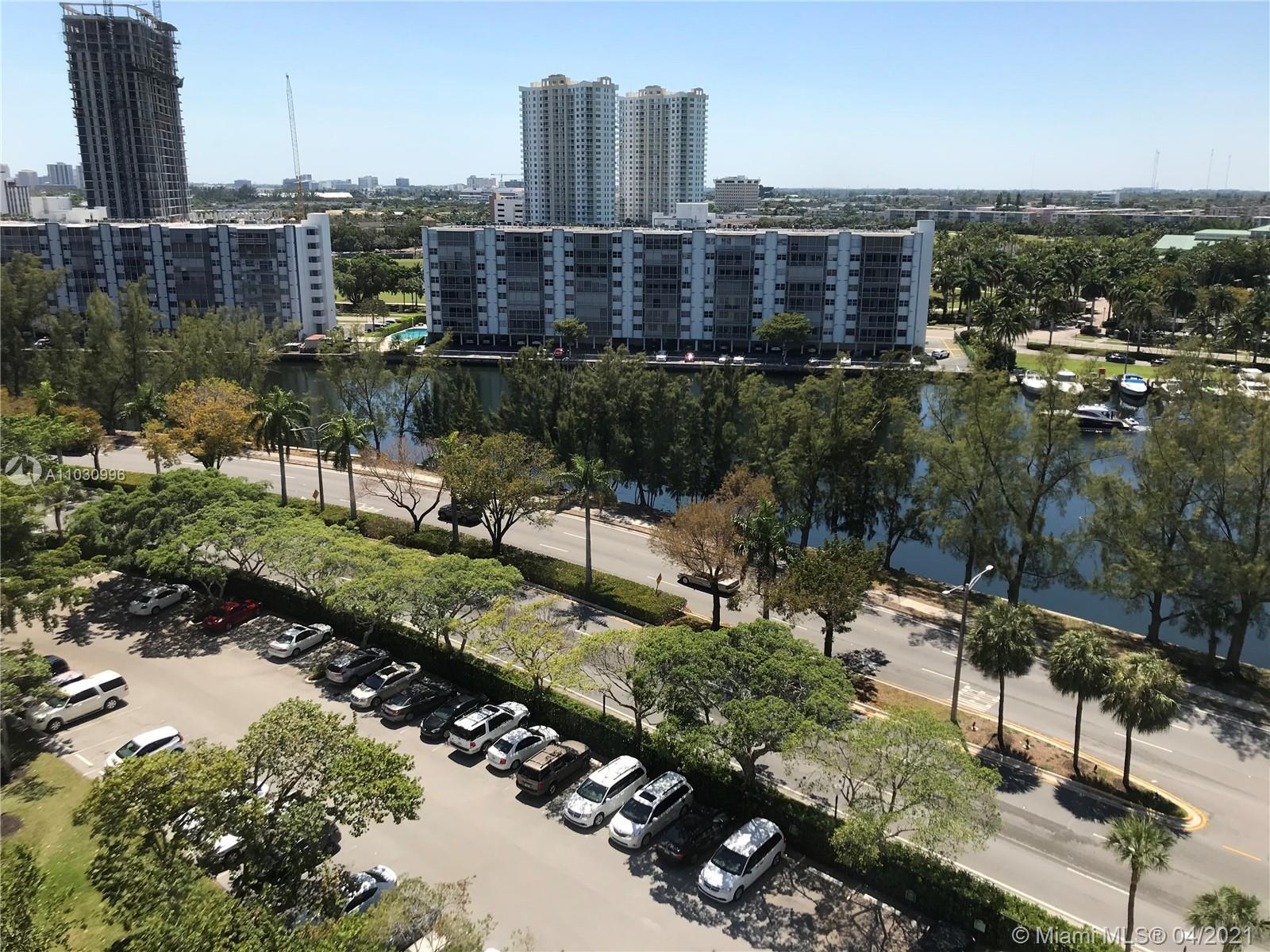 unit is in good shape / some great sunset and lake views / building has full service and security e