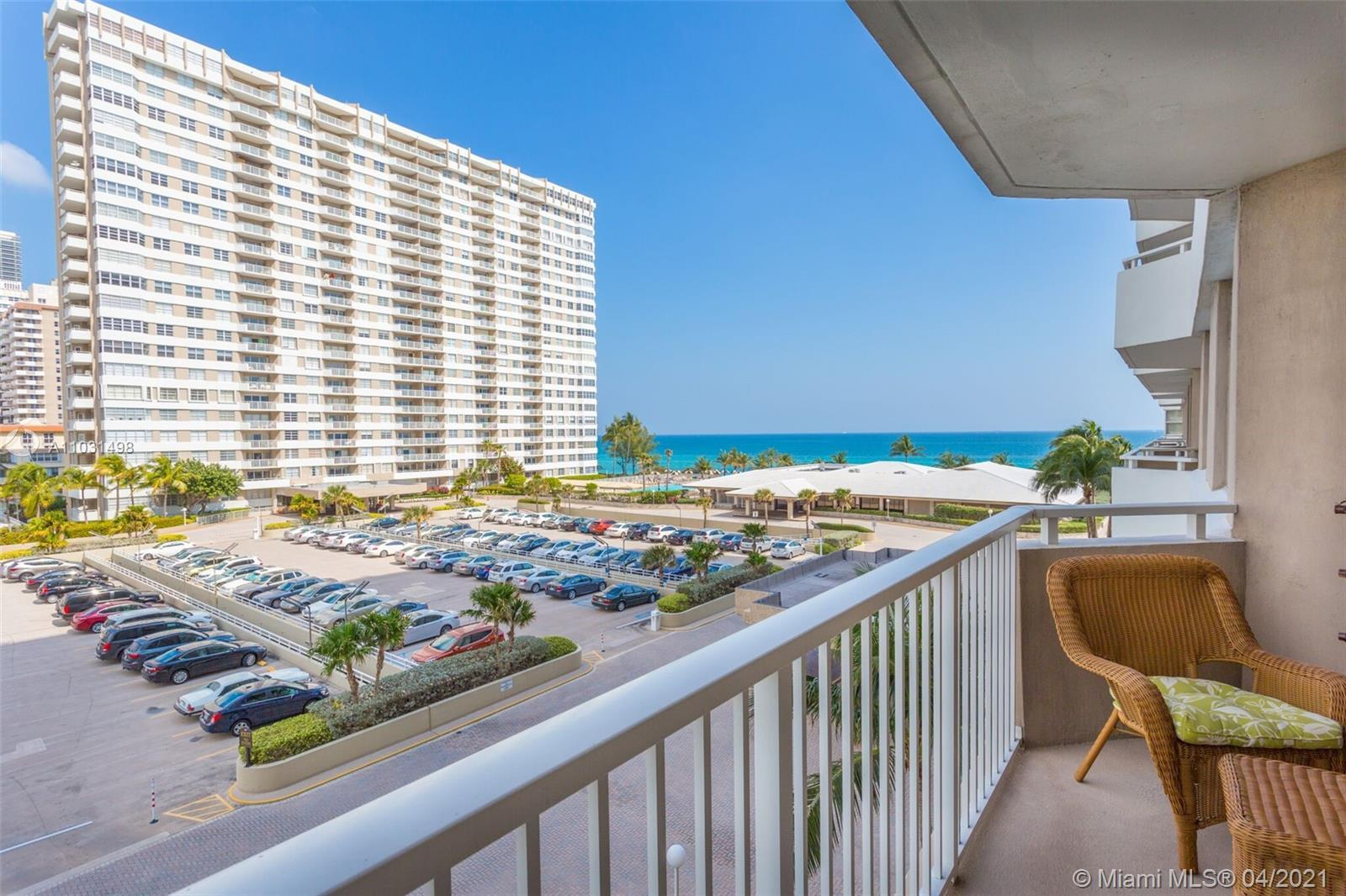 This is a must see! Enjoy the beautiful ocean views from this 1 bedroom, 1.5 baths condo located in