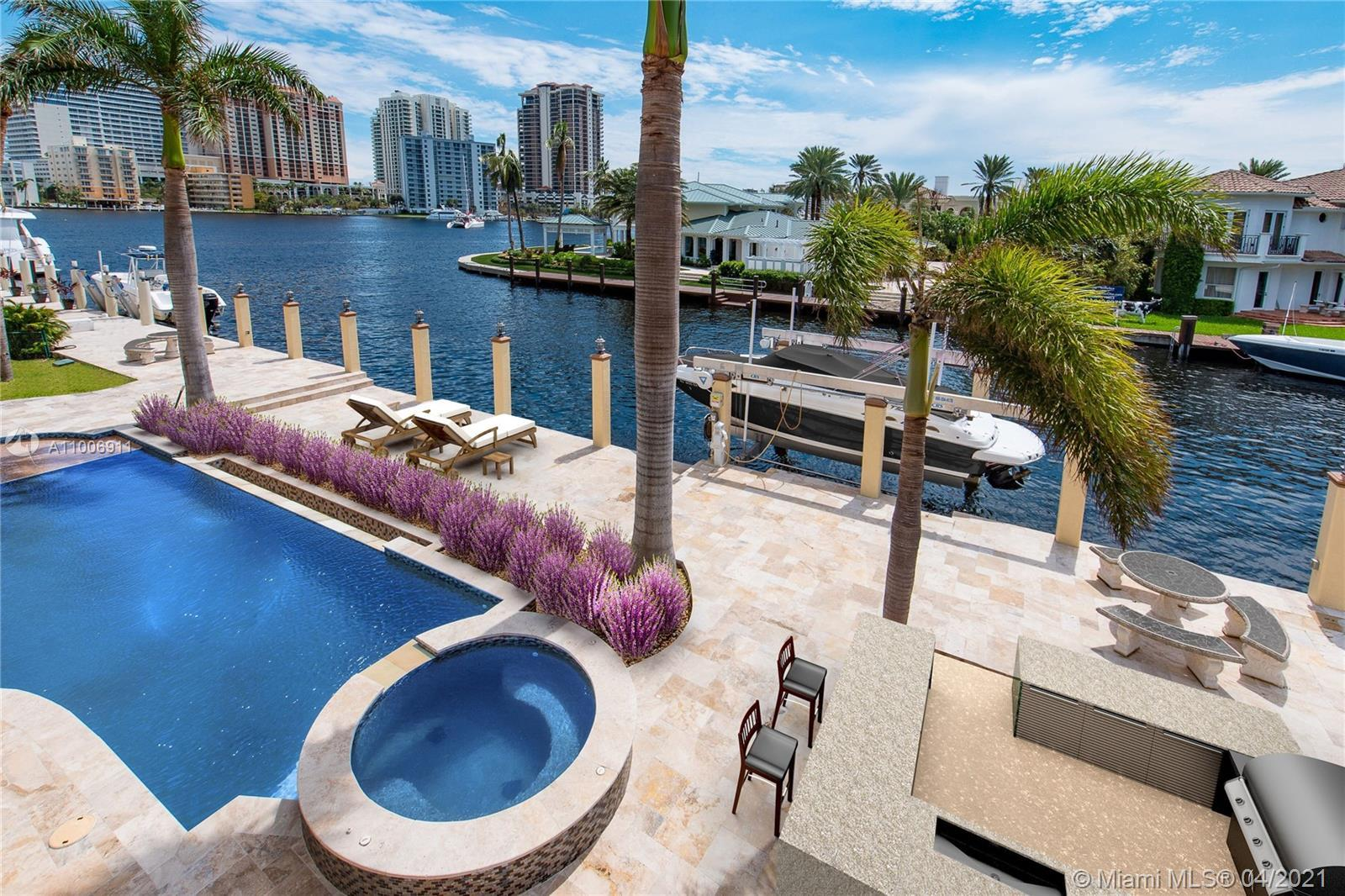 LAS OLAS LIVING AT IT'S BEST !!! MAGNIFICIENT waterfront estate extensively renovated both inside an