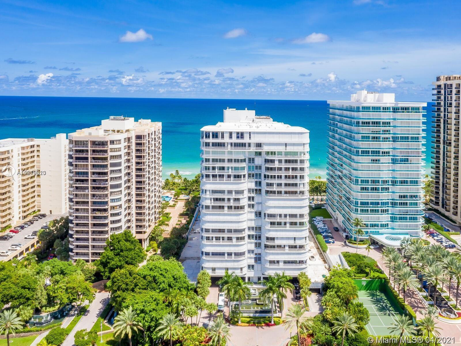"""RARELY AVAILABLE HIGH FLOOR """"07"""" LINE AT THE BAL HARBOUR 101. THIS IS THE MOST COVETED 2 BEDROOM LIN"""