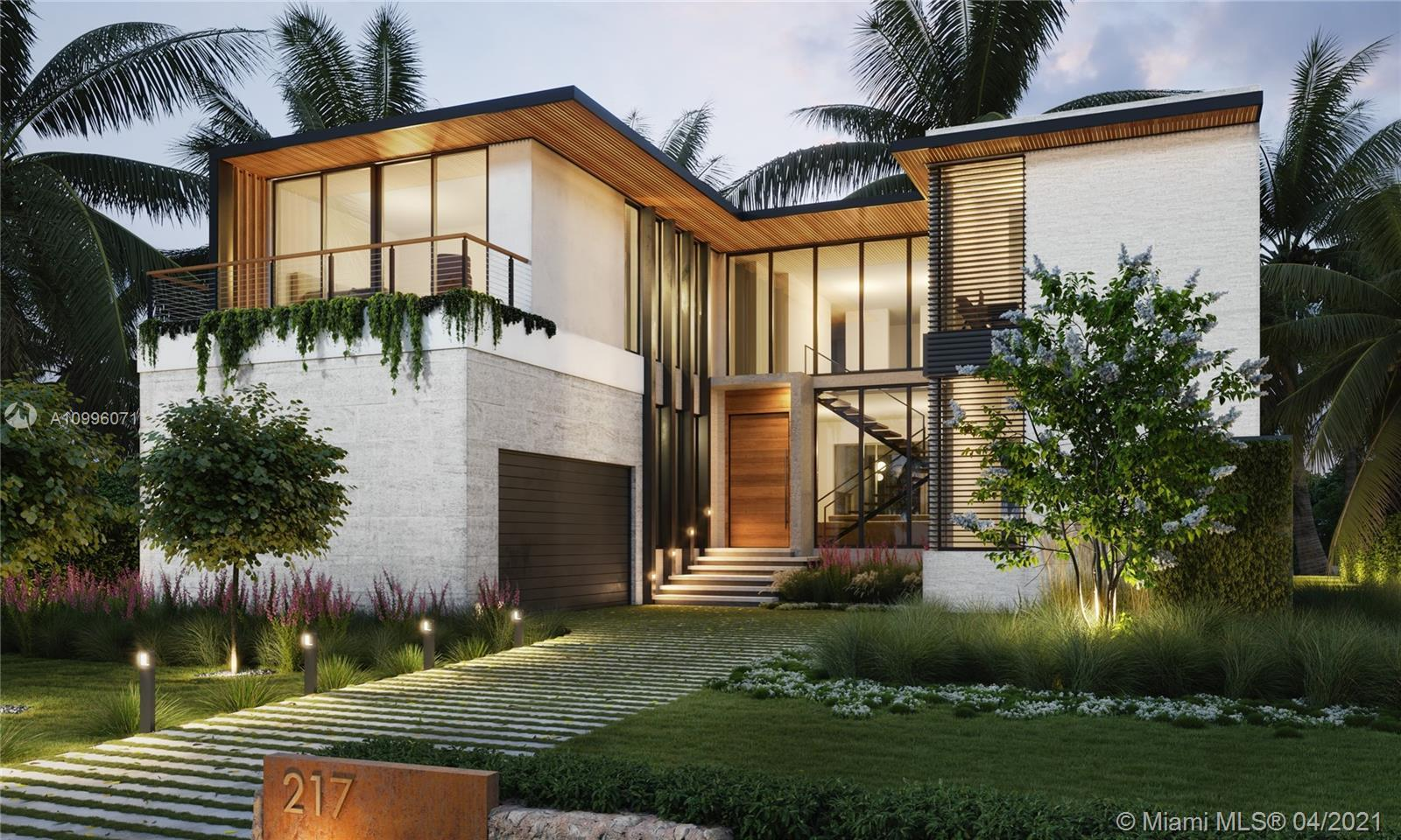 BRAND NEW CONSTRUCTION IN EXCLUSIVE BAL HARBOUR VILLAGE!! This Tropical Modern luxury residence is l