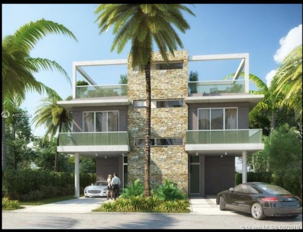Modern pre-construction townhome with the latest technology. 3bedroom/ 3.5 bathrooms comes with priv