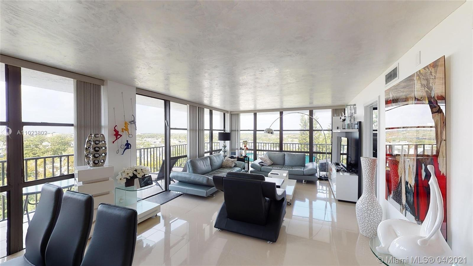 RARE and Desirable Renovated 3 Bedroom, 2 Bathroom Corner Unit! Enjoy Magical views and sunsets from