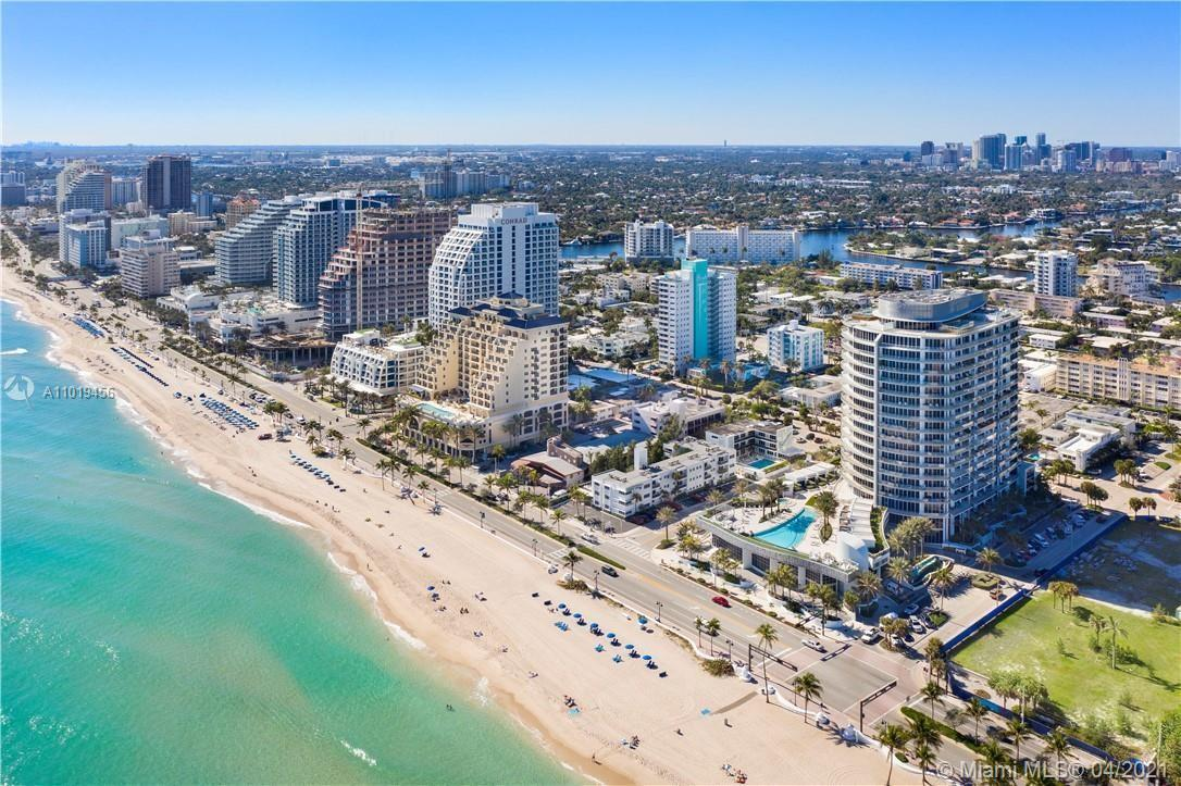 Fort Lauderdale Beach Newest High Rise Condominium with direct ocean access and beach amenities.