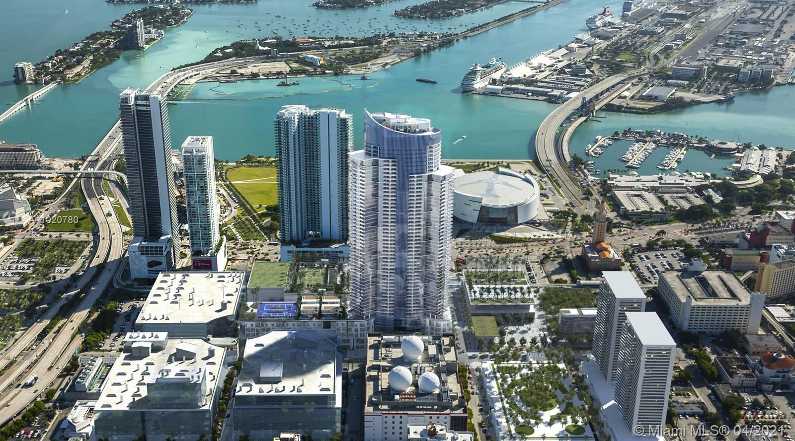 PARAMOUNT Miami Worldcenter, Ultra-chic High-rise, 58 stories of luxury. The building with the most