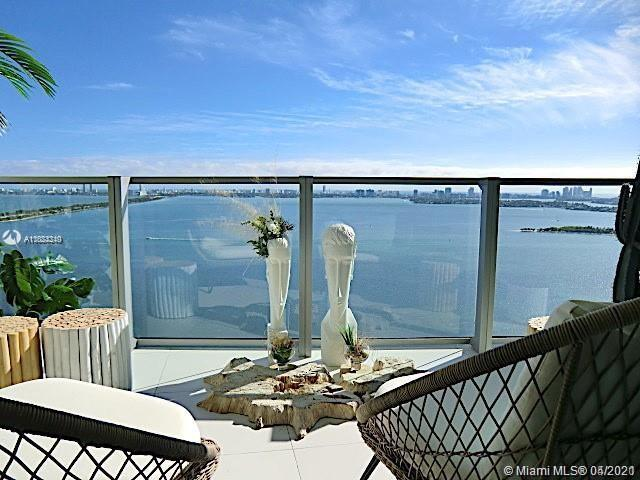 Furnished direct bay in new luxurious building in Miami's first man-made beach club directly on the