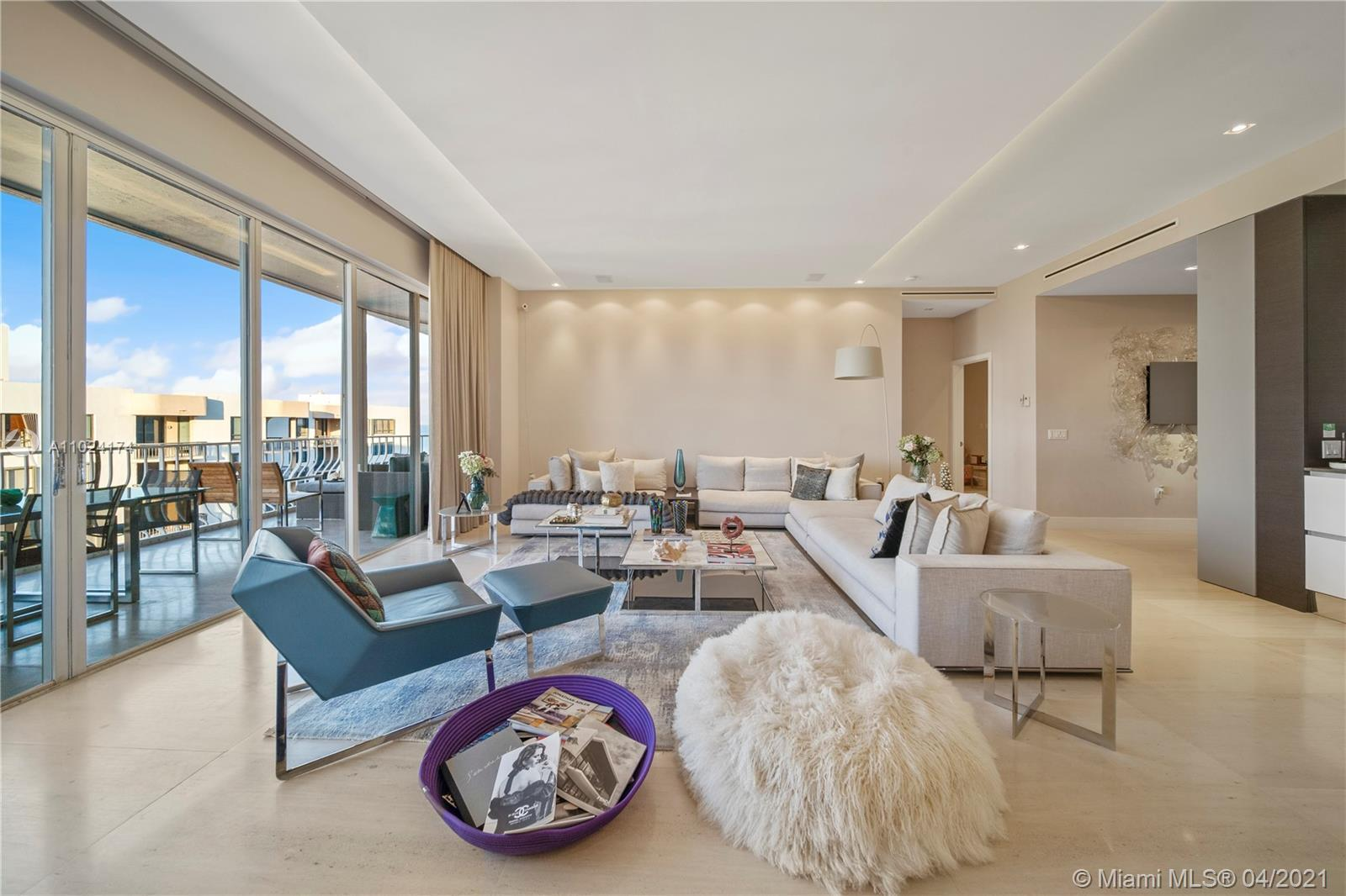 ABOUT THIS ONE OF A KIND L-PH unit. With spectacular horizons from ocean to Intracoastal views, this