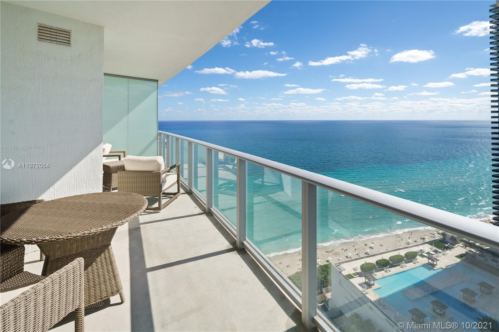 STELLAR balcony with amazing ocean AND Intracoastal view. Top-of-the-line appliances and finishes. T