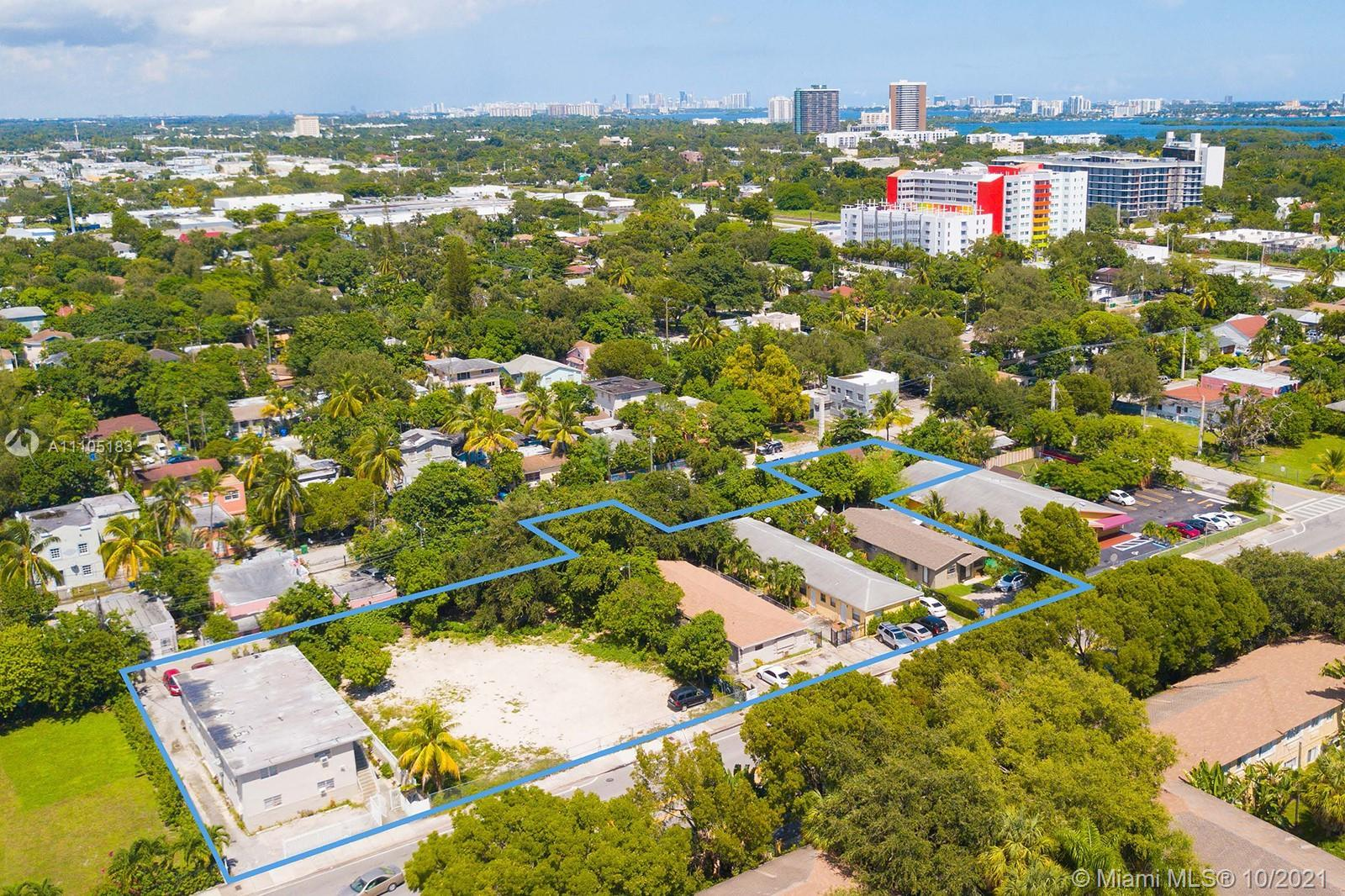Pleased to exclusively offer the opportunity to acquire a Covered Land Play in Little Haiti, one of