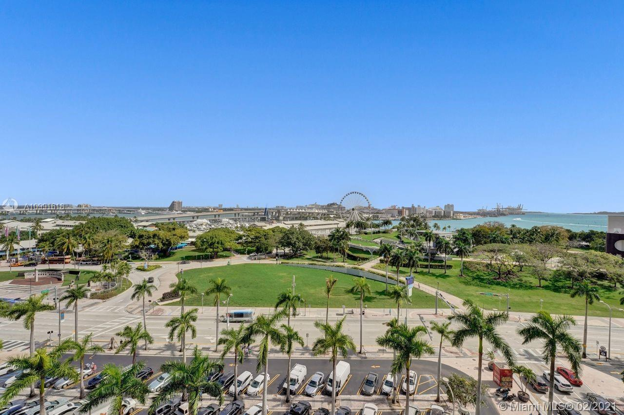 Beautiful Views! Great Layout, bright & ample, 2 bedrooms, 2-1/2 bathrooms with white porcelain floo
