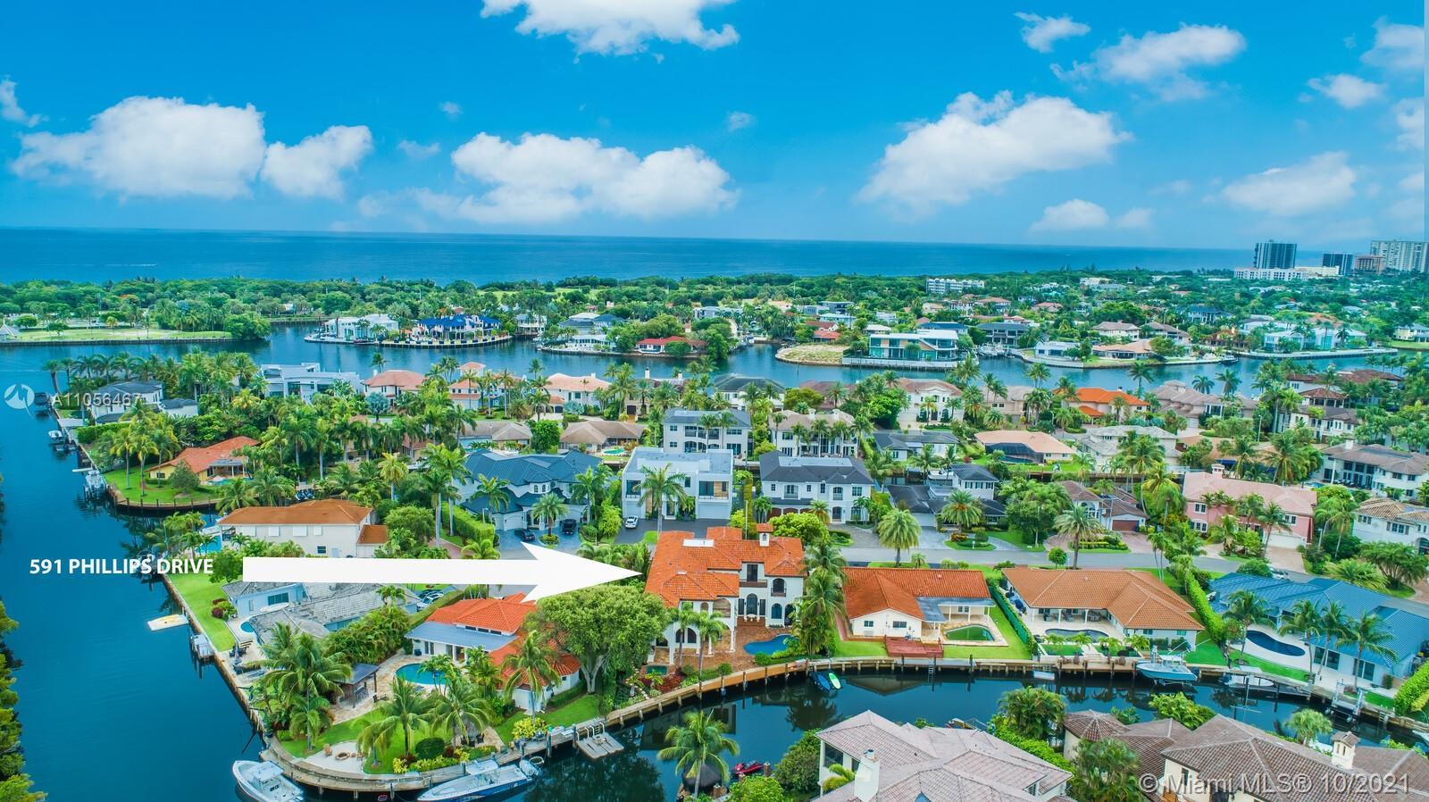 A true waterfront masterpiece estate! Located right in the heart and soul of beautiful Boca Raton, t