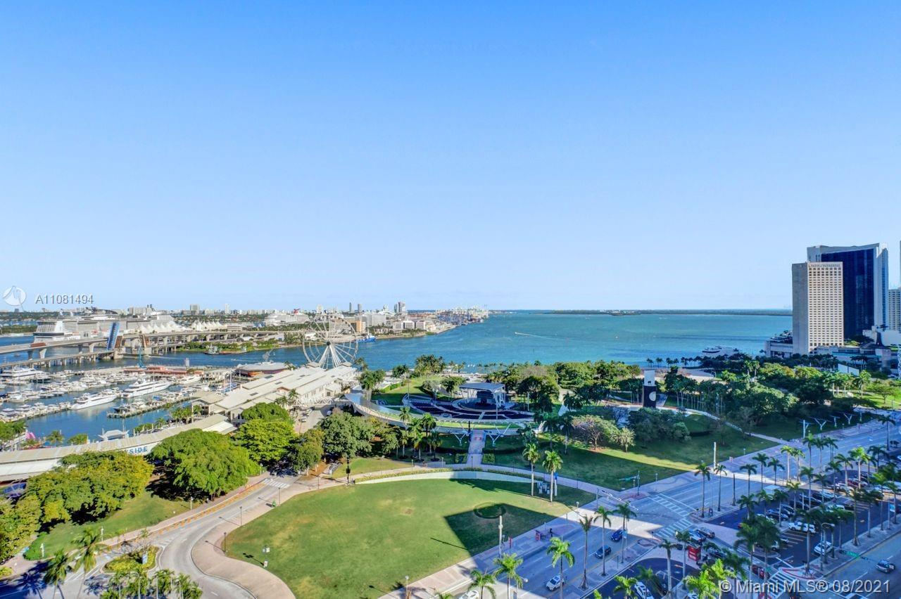 FANTASTIC UNOBSTRUCTED BAY & CITY VIEWS FROM EVERY WINDOW AND 2 BALCONIES, GREAT LAYOUT, 1474SF OF L