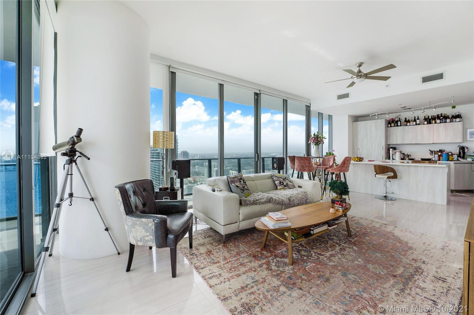 Beautiful Corner Unit With Italian Designs Which Includes Private Elevator With Direct Access To The