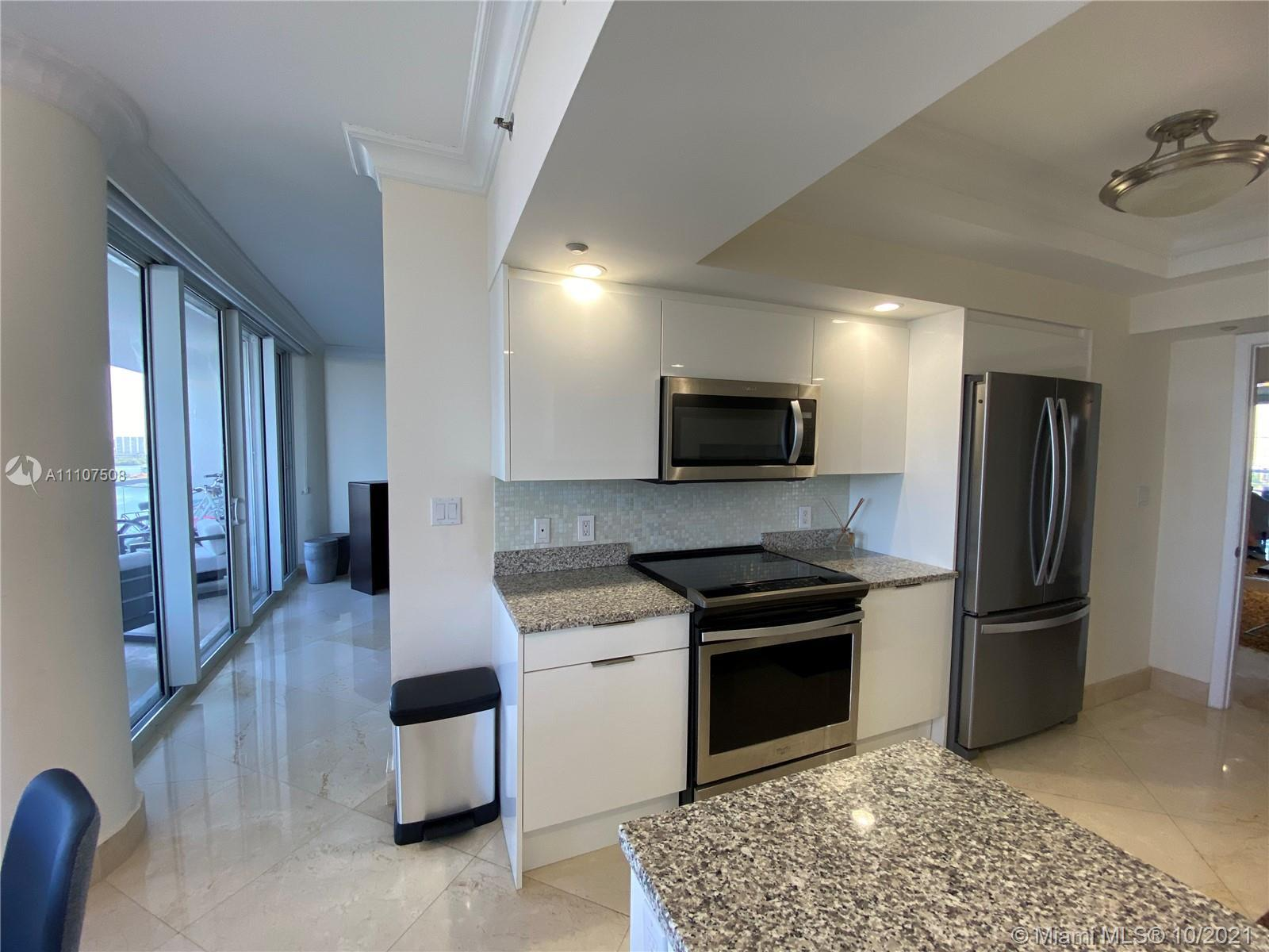 Beautiful large balcony with direct Ocean view.  Spacious 2/2 at Williams Island which is about the