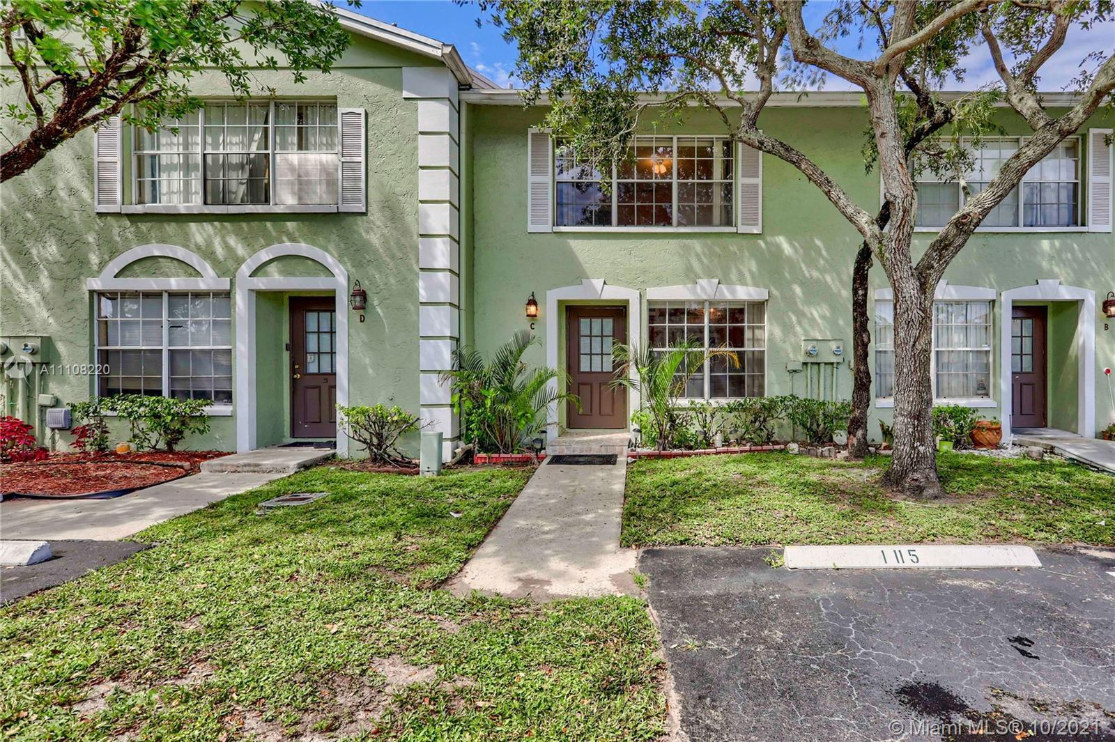 Rare Opportunity for this model in Society Place of West Palm.  Great Fee Simple family townhome wit