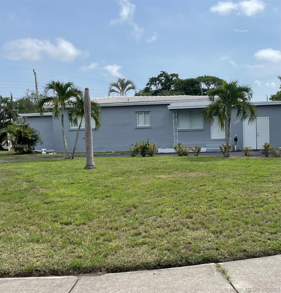 Welcome Home! Must see 4/2 s/f home on a large corner lot with a large backyard and space for entert
