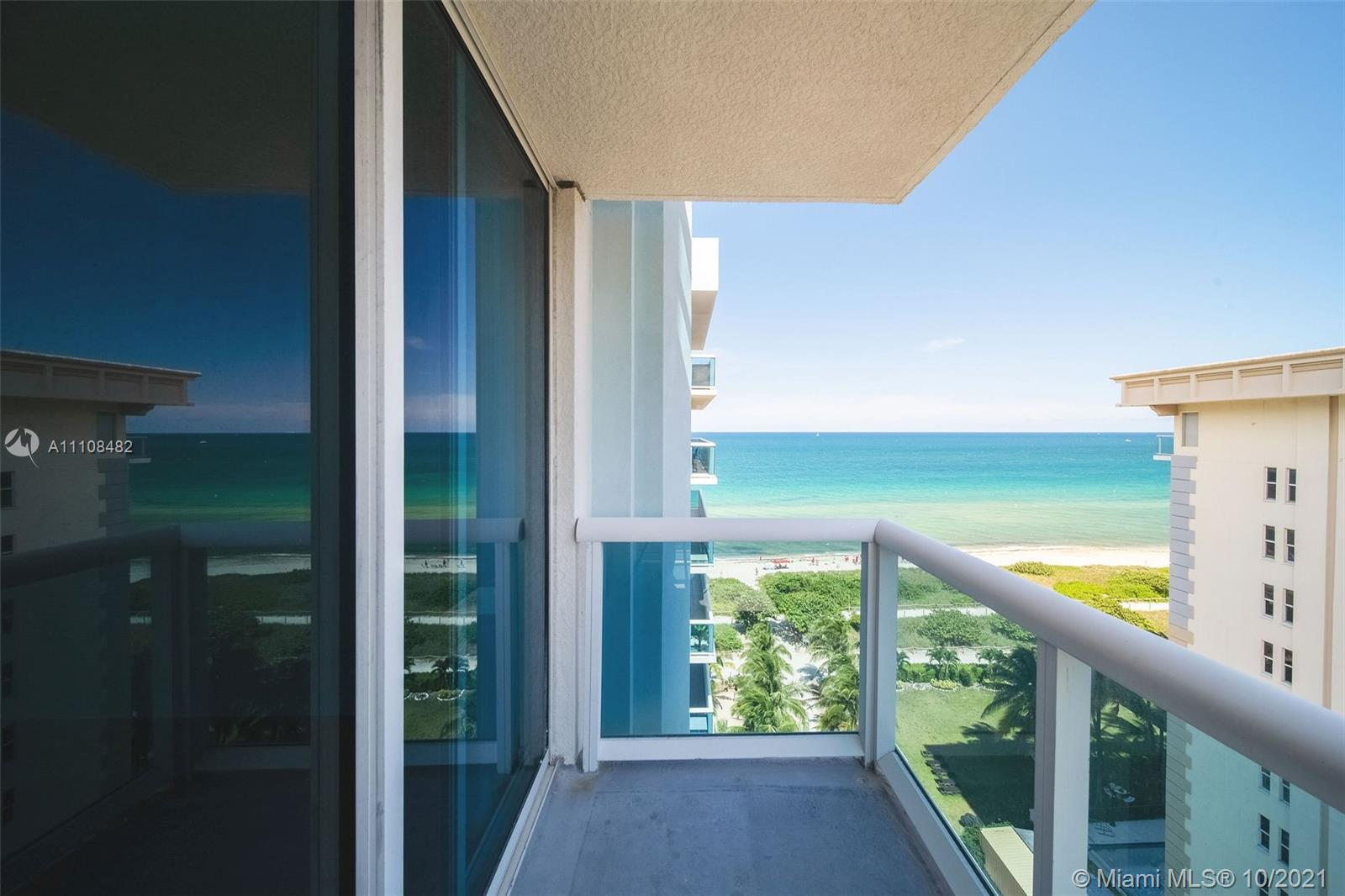 Enjoy beautiful views of ocean & Intracoastal from this 2 bedroom, 2 bath condo located on the beach