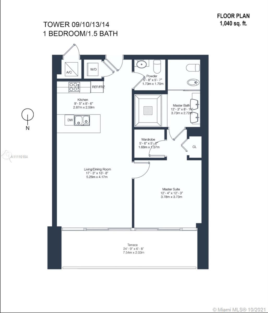 Live an Epic Lifestyle in this amazing 1 bedrooms/1.5 bathrooms in the heart of Downtown. Enjoy amaz