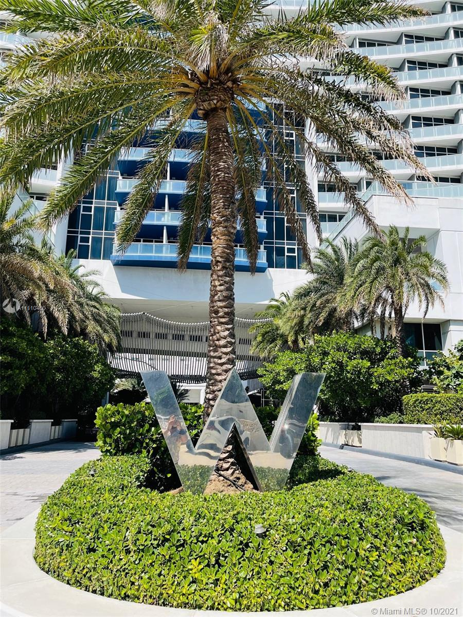 Amazing Unit at W Fort Lauderdale Residences. Best line 03, with unobstructed views to the ocean and