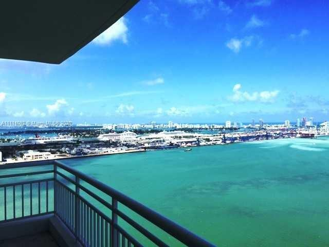 This is definitely the best property in Brickell Key at the moment with spectacular frontal bay view