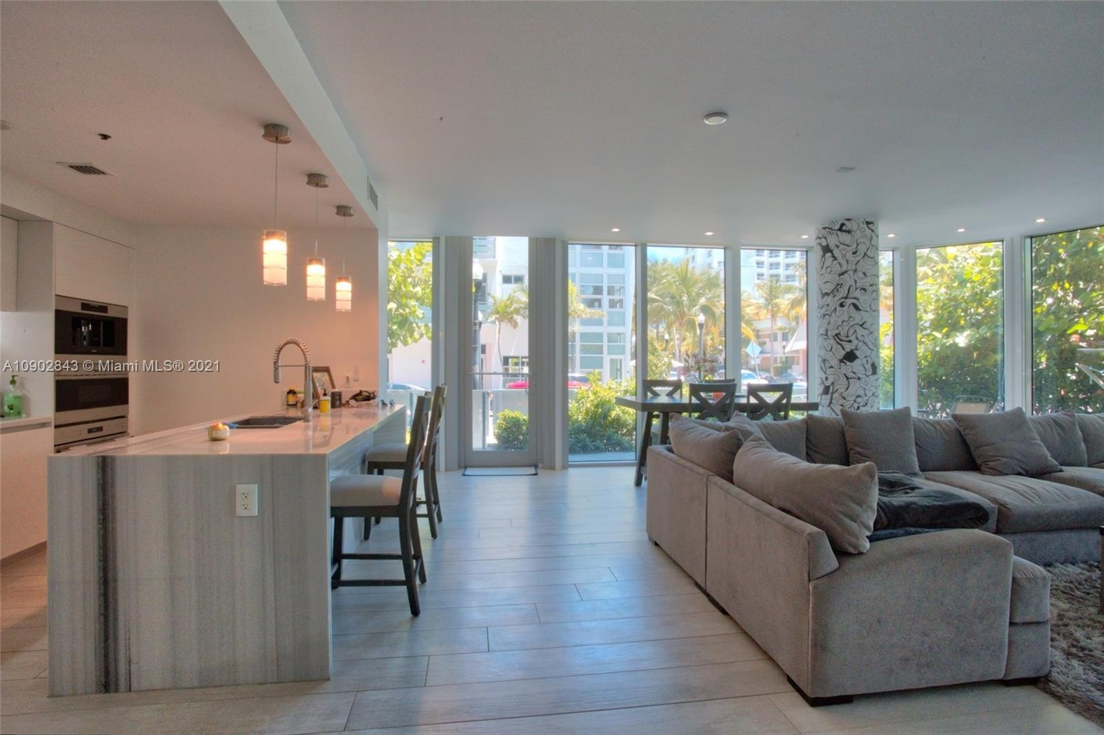 UNIQUE and EXCLUSIVE LANAI, 12 FOOT CEILINGS. A must-see impeccable corner unit. Feels like a reside