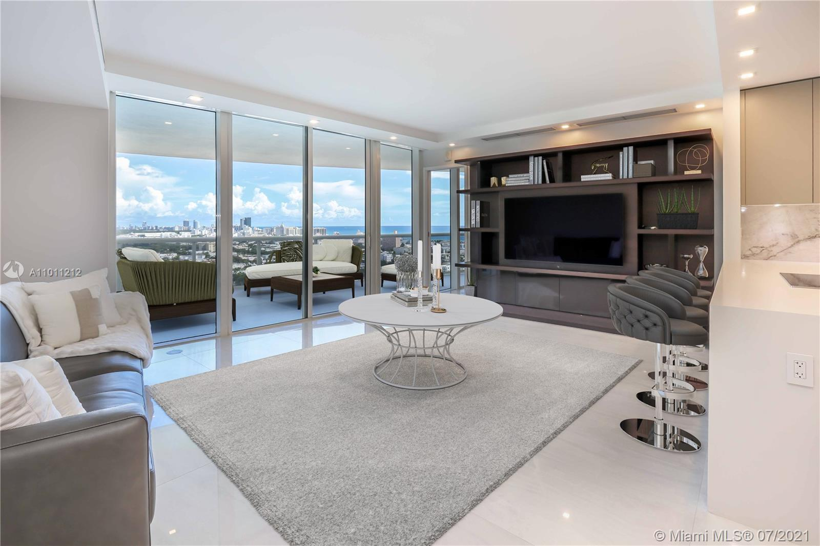 Absolutely STUNNING 2 bedroom residence at Murano Grande. This unit was completely gut renovated les