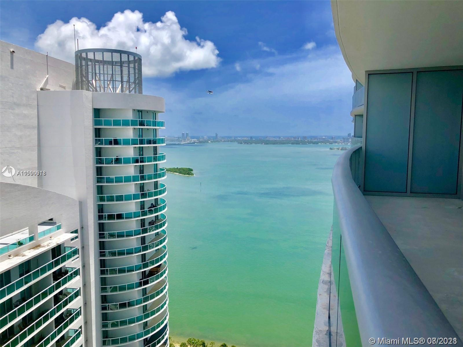 BEAUTIFUL 1/1.5 BATHS IN THE NEWLY OPENED LUXURY BUILDING OF ARIA IN THE BAY LOCATED IN EAST EDGEWAT