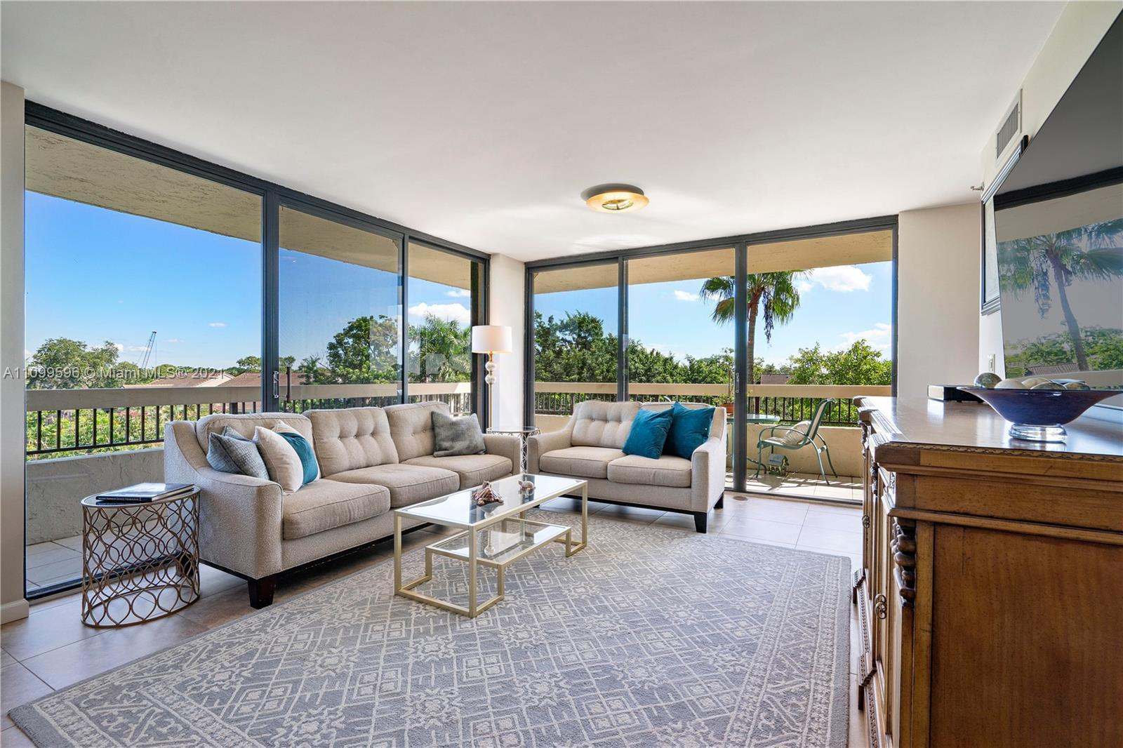 WOW! Beautifully Updated 3-Bed, 2-Bath Corner Unit W/Wraparound Balcony & Private Courtyard Entrance