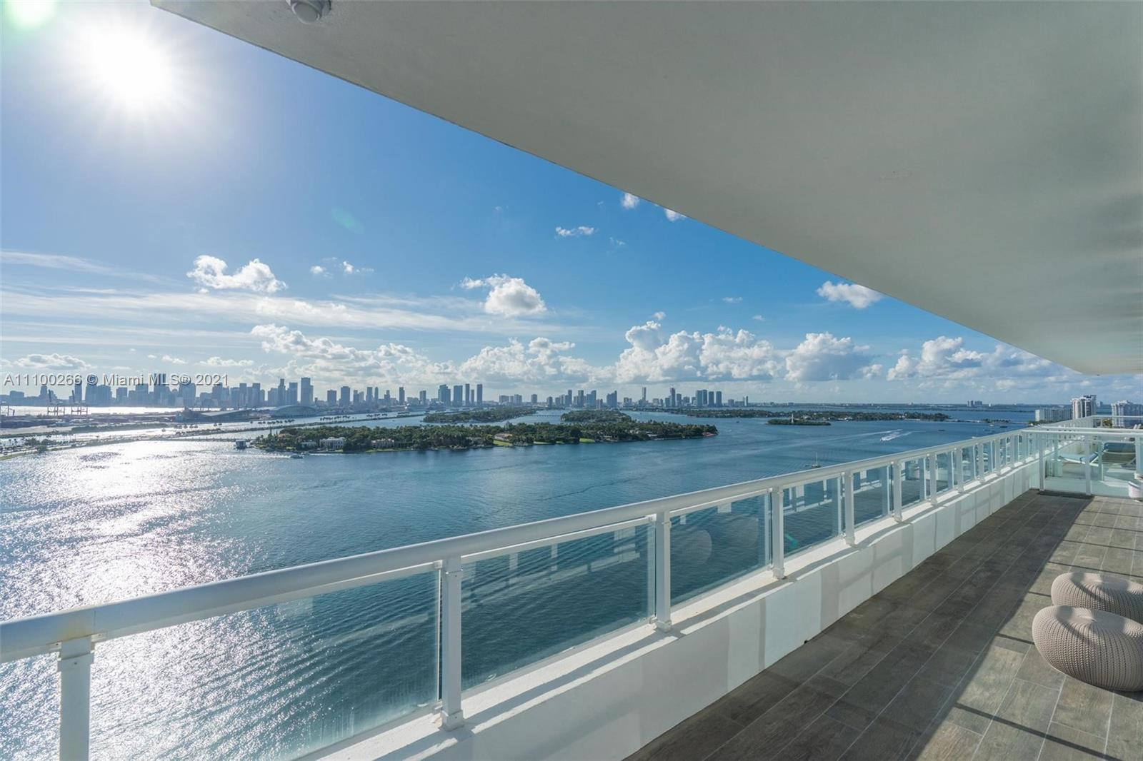 Enjoy this Spectacular 3 bedroom/ 3 full bath/ half bath open floor plan unit. Views consist of 180-