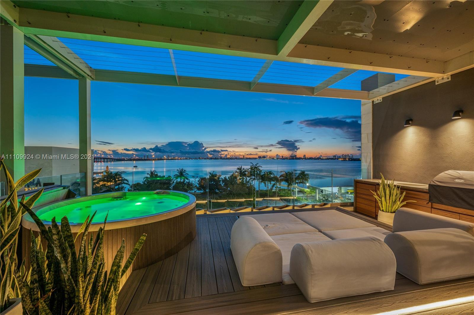 Live in this spectacular, expansive Bay Home that blends two luxury units into one.  Enjoy the feel