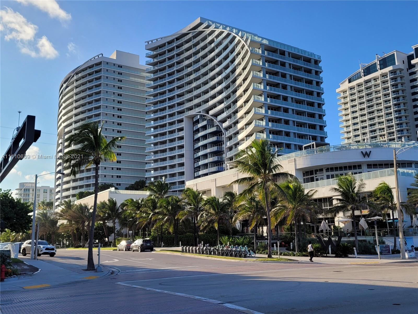 Ocean views and a resort lifestyle await you at the W residences! No short term rental restrictions.