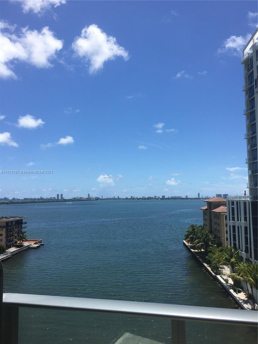 Come live in this beautiful 3 bed/ 2 bath corner unit at Icon Bay in Edgewater with unobstructed vie