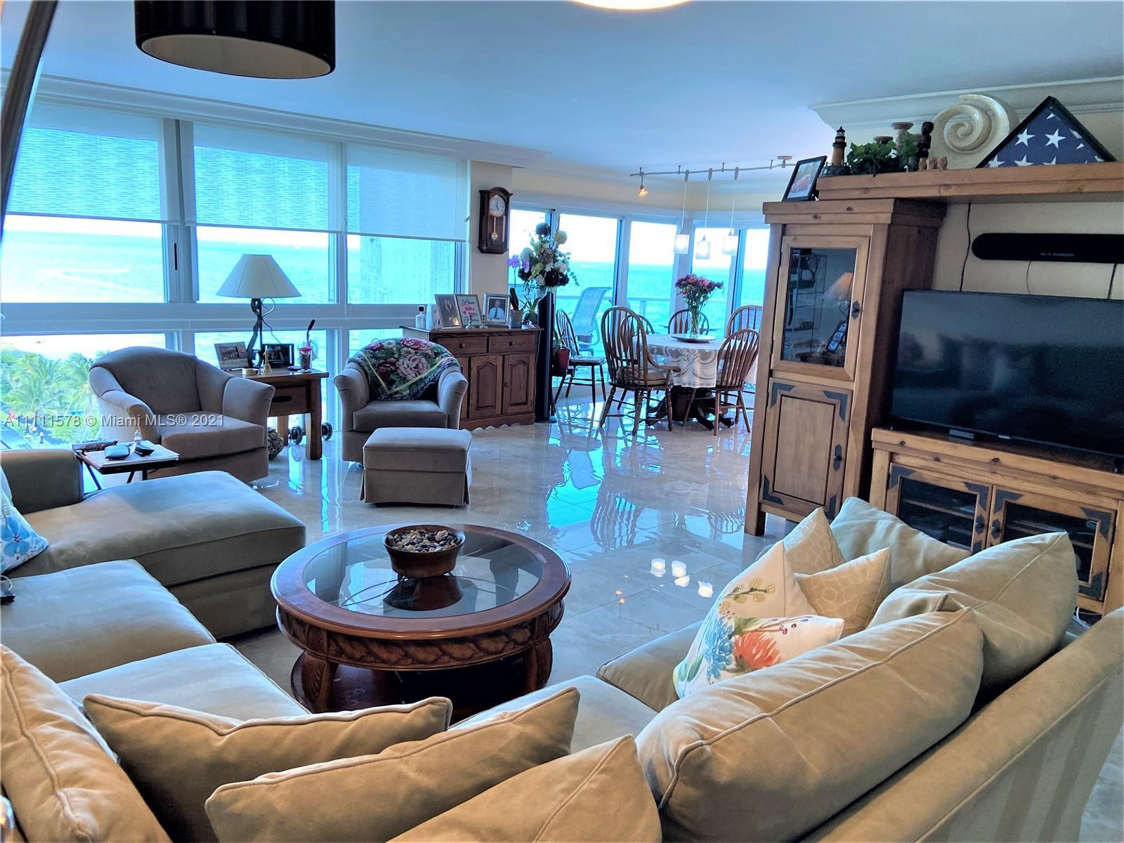 Cannot get better than this! Direct Oceanfront corner unit located on the NE corner of this recertif