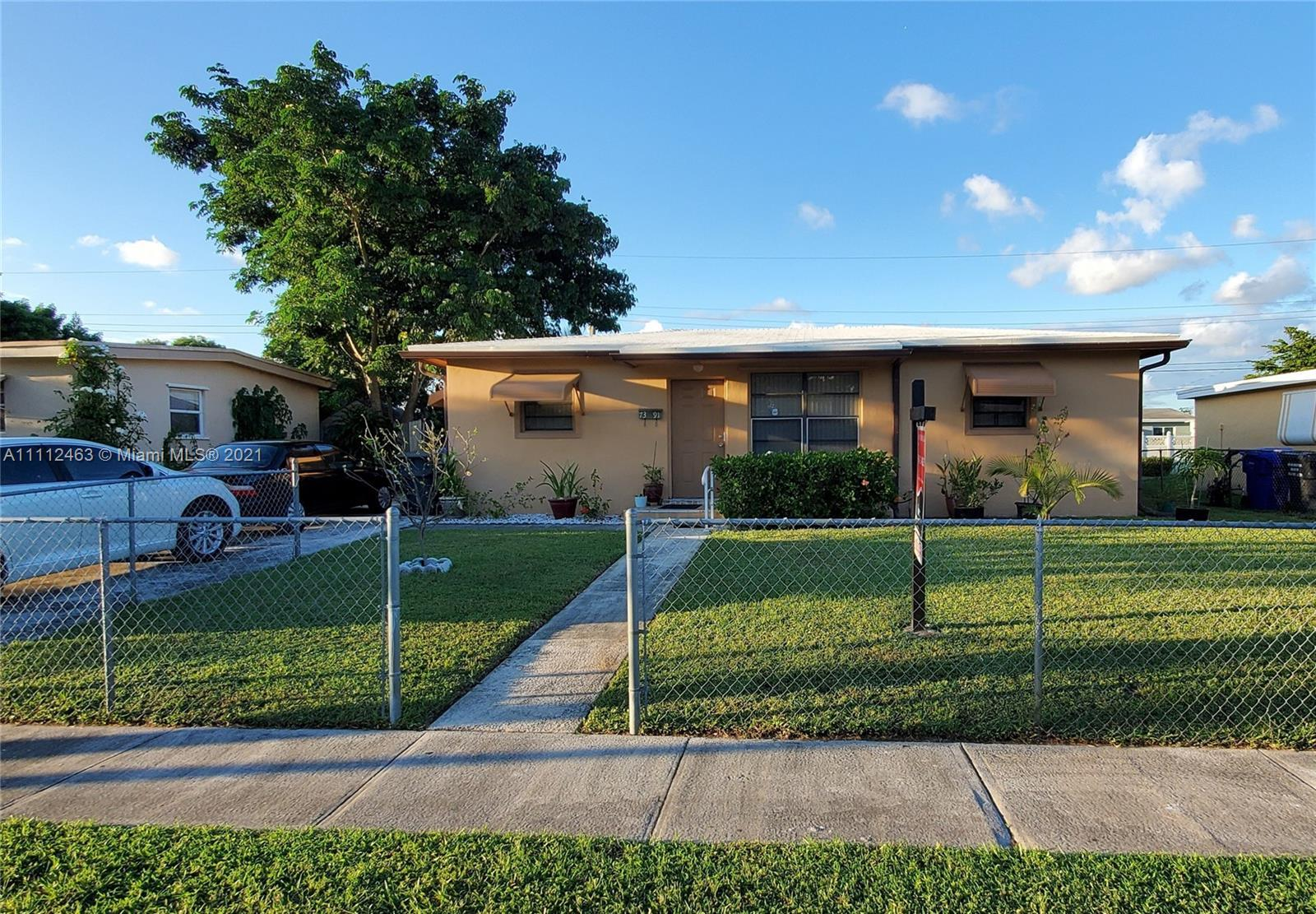 No HOA for this charming home with a huge backyard that's great for parties or a BBQ and even has a