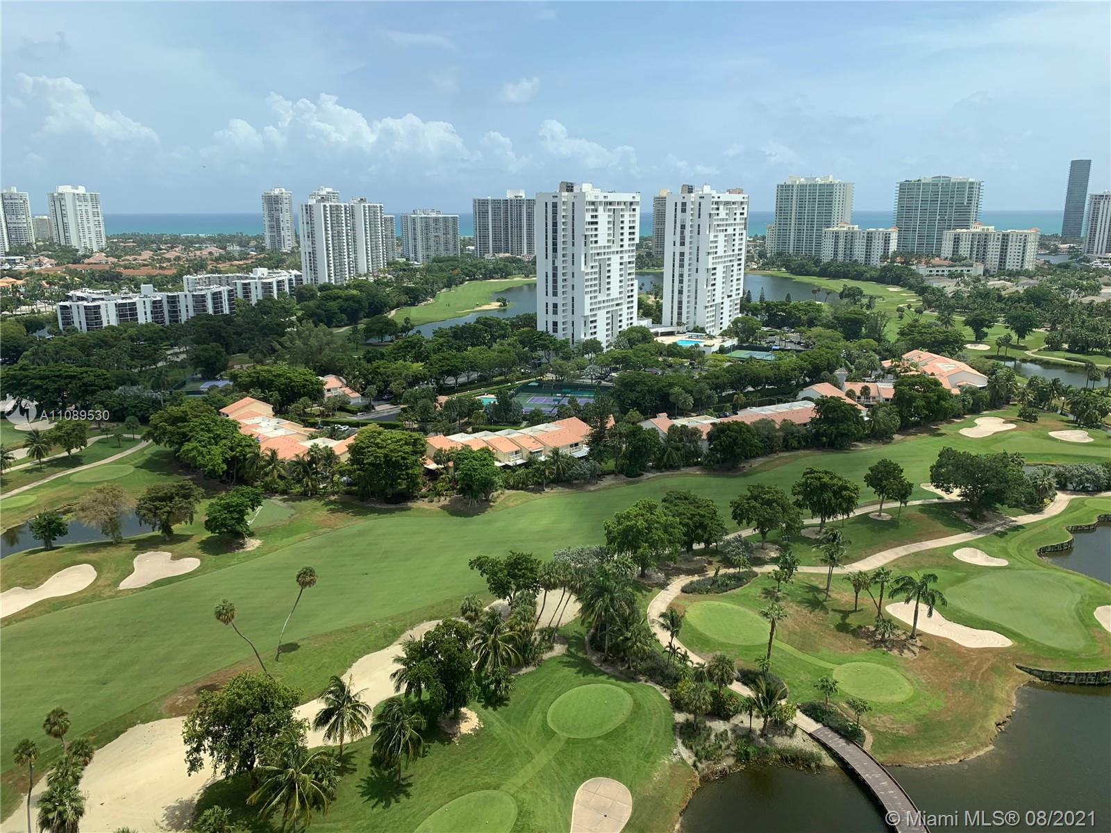 Best views in all of Aventura, golf course, ocean, no building obstructions. Come and feel at home w