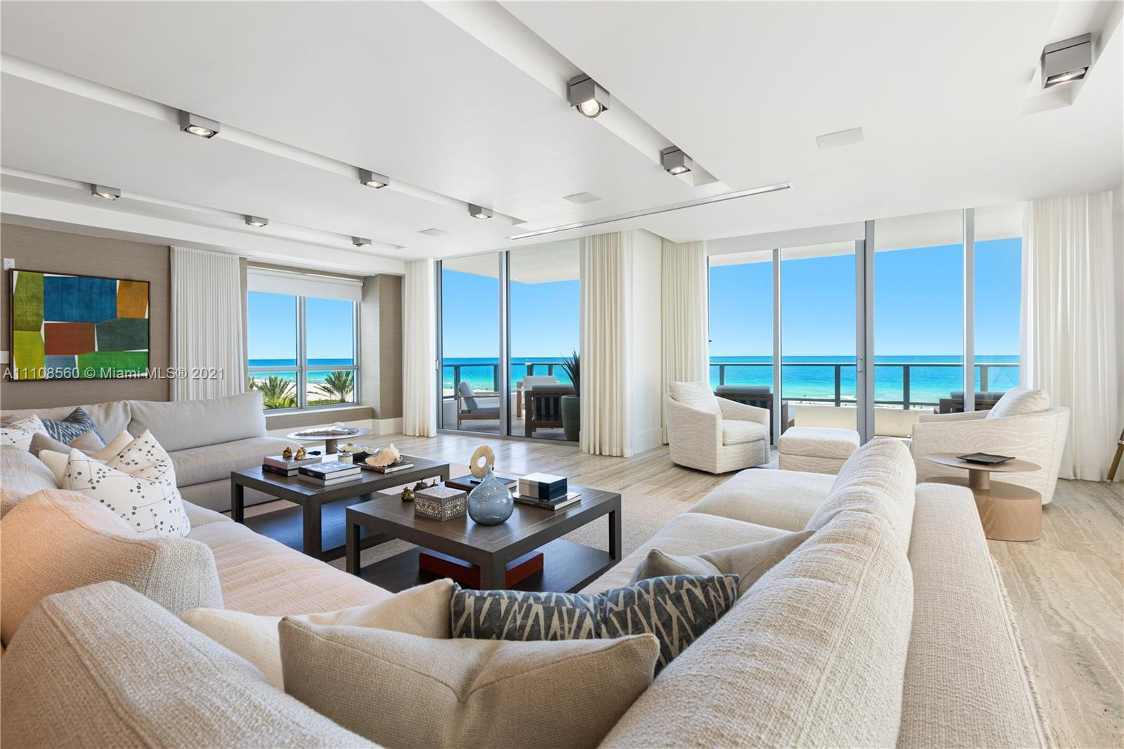 MALIBU-STYLE OCEANFRONT LIVING AT THE ULTRA SOPHISTICATED BOUTIQUE BUILDING OCEAN HOUSE CURATED BY A