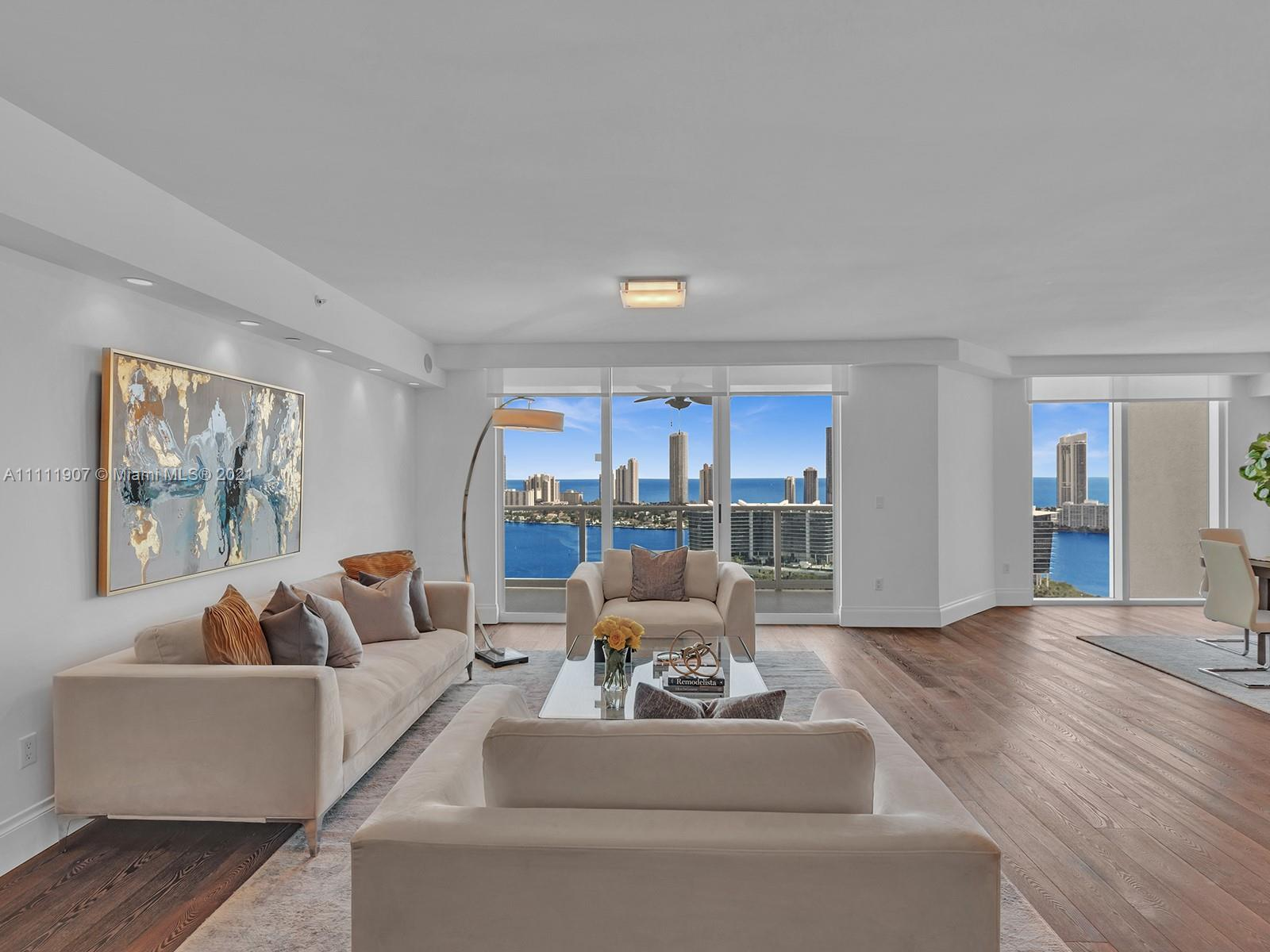 """BREATHTAKING RARELY AVAILABLE STUNNING """"TOWER SUITE"""" 3464 SF FEATURES 4 BEDROOM/4.5 BATH + BONUS MED"""